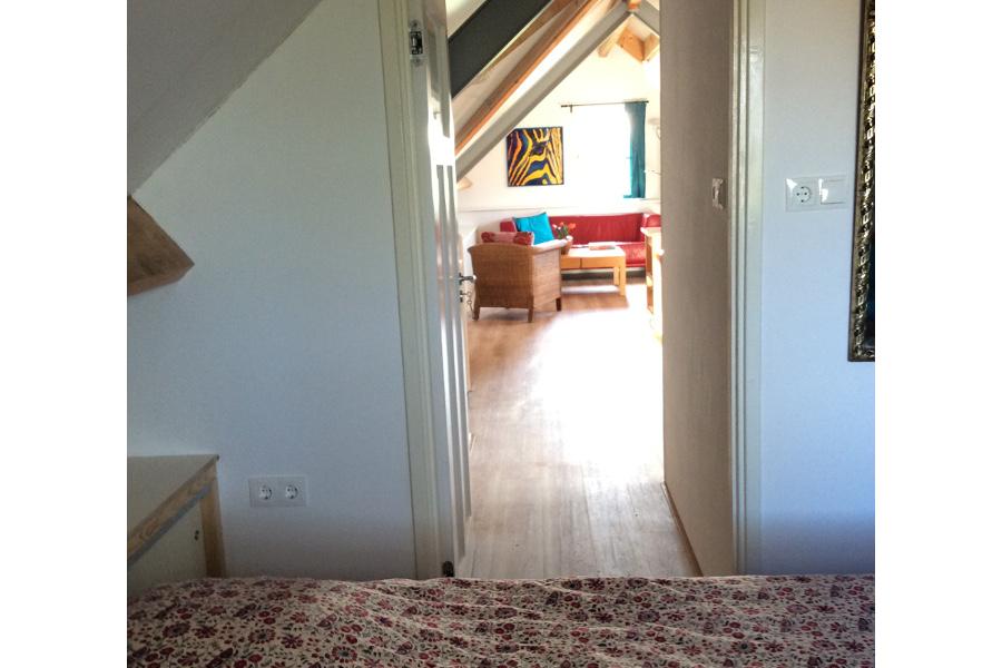 Slaapkamer appartement De Waanhoeve