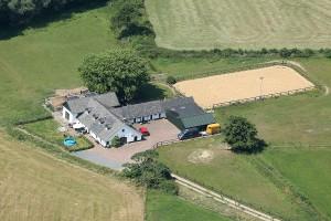 Landschapsfoto - satellietfoto De Waanhoeve