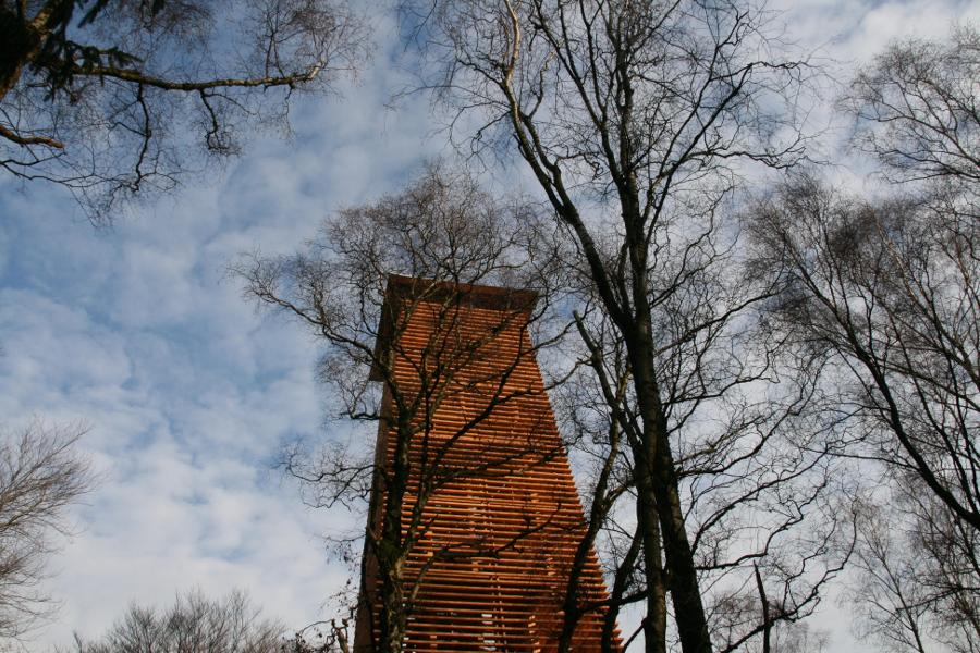 Uitkijktoren in Stokkum