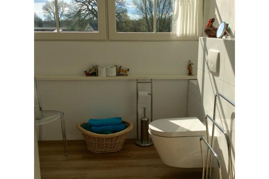 Badkamer vakantiewoning De Waanhoeve
