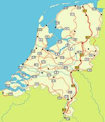 Het Pieterpad route van Groningen naar Limburg