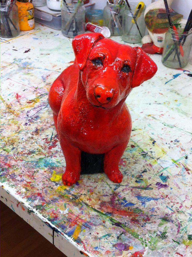 Een rood hondje voor de Rode Waan