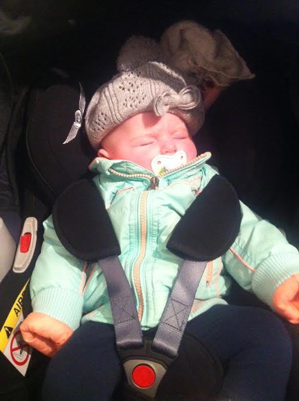 Baby Rosa op bezoek op de Waanhoeve